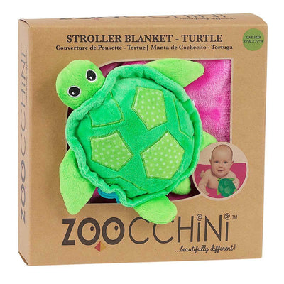 ZOOCCHINI Baby Buddy Stroller Blanket - Tammy the Turtle-3