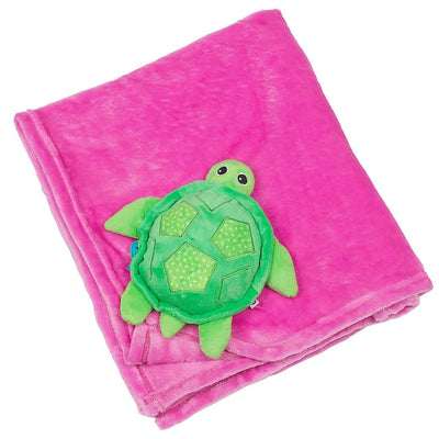 ZOOCCHINI Baby Buddy Stroller Blanket - Tammy the Turtle-2
