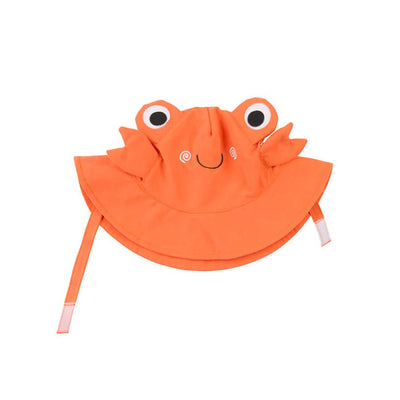 ZOOCCHINI UPF50+ Baby Sun Hat - Charlie the Crab-2