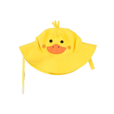 ZOOCCHINI UPF50+ Baby Sun Hat - Puddles the Duck-2