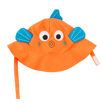 ZOOCCHINI UPF50+ Baby Sun Hat - Sushi the Fish-2