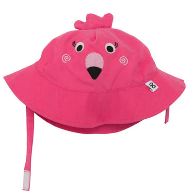 ZOOCCHINI UPF50+ Baby Sun Hat - Franny the Flamingo-2