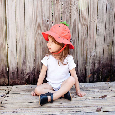 ZOOCCHINI UPF50+ Baby Sun Hat - Strawberry-2