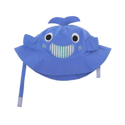 ZOOCCHINI UPF50+ Baby Sun Hat - Willy the Whale-2