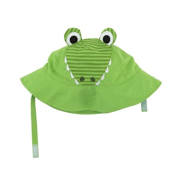 ZOOCCHINI UPF50+ Baby Sun Hat - Aidan the Alligator