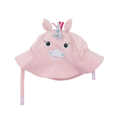 ZOOCCHINI UPF50+ Baby Sun Hat - Allie the Alicorn-2