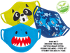ZOOCCHINI Shark Multi Organic Face Masks Set  Edit alt text