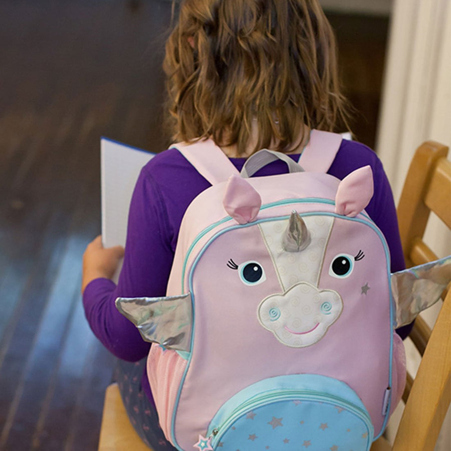 06095042a9ab ZOOCCHINI Kids Everyday Backpack - Allie the Alicorn-1