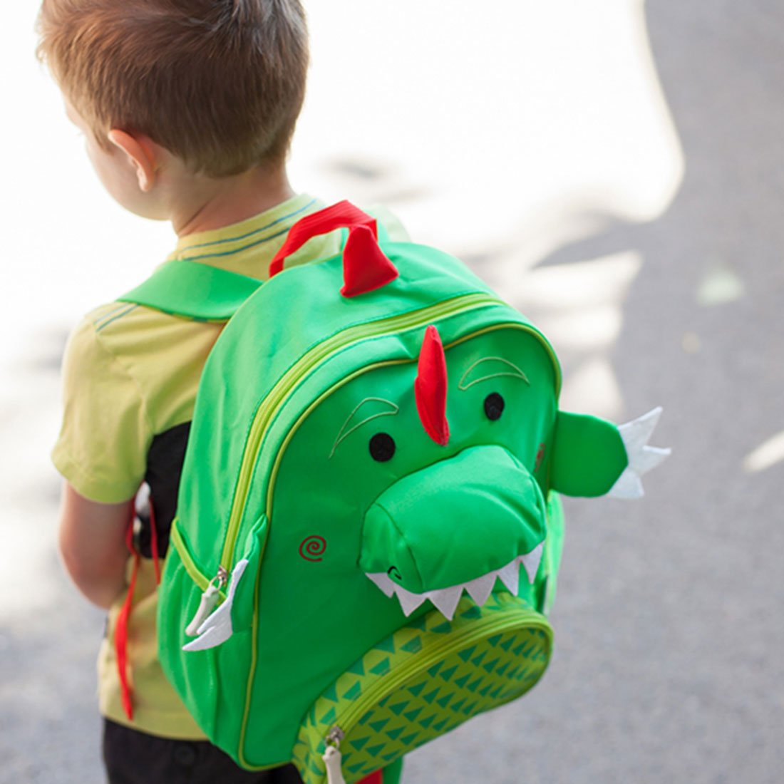 ZOOCCHINI Kids Everyday Backpack - Devin the Dinosaur-1