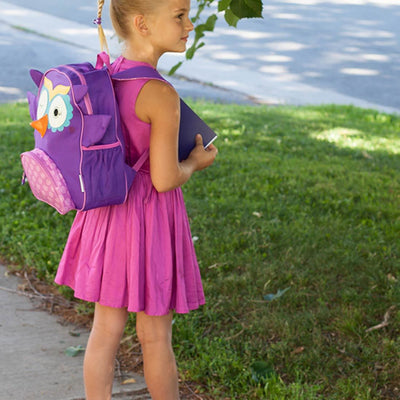 ZOOCCHINI Kids Everyday Backpack - Olive the Owl-1