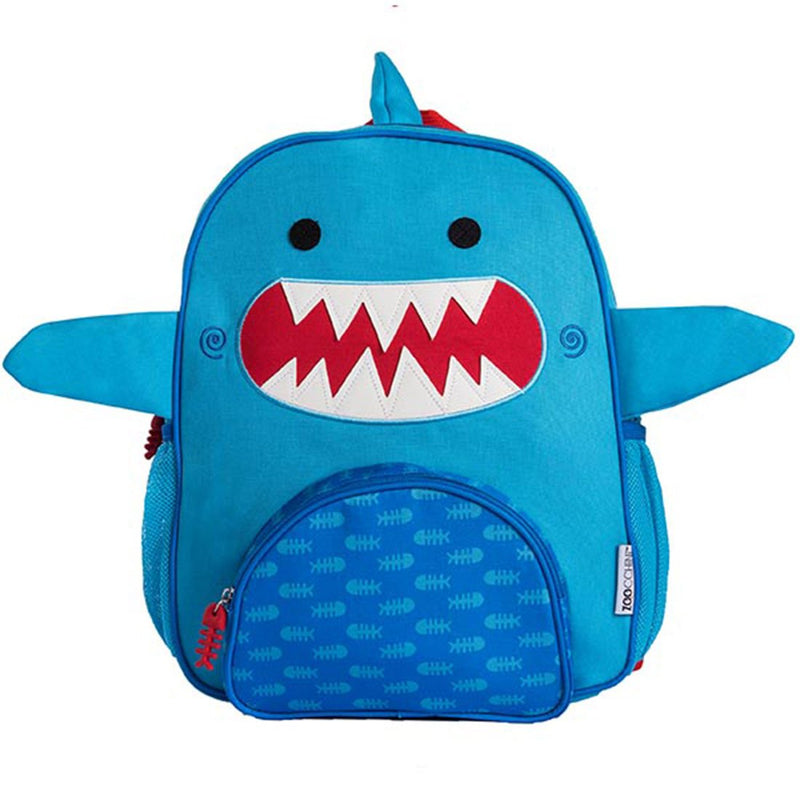 ZOOCCHINI Kids Everyday Backpack - Sherman the Shark-1
