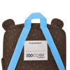 ZOOCCHINI Toddler/Kids Everyday Square Backpack - Bosley the Bear
