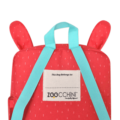 ZOOCCHINI Toddler/Kids Everyday Square Backpack - Bella the Bunny