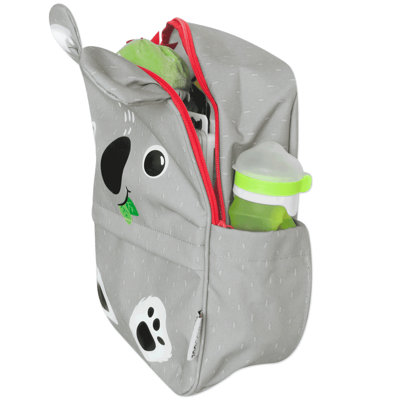 ZOOCCHINI Toddler/Kids Everyday Square Backpack - Kai the Koala