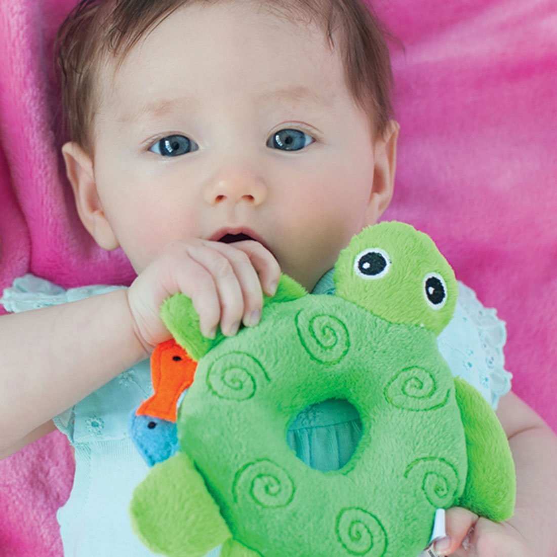 ZOOCCHINI Baby Buddy Rattle - Tammy the Turtle