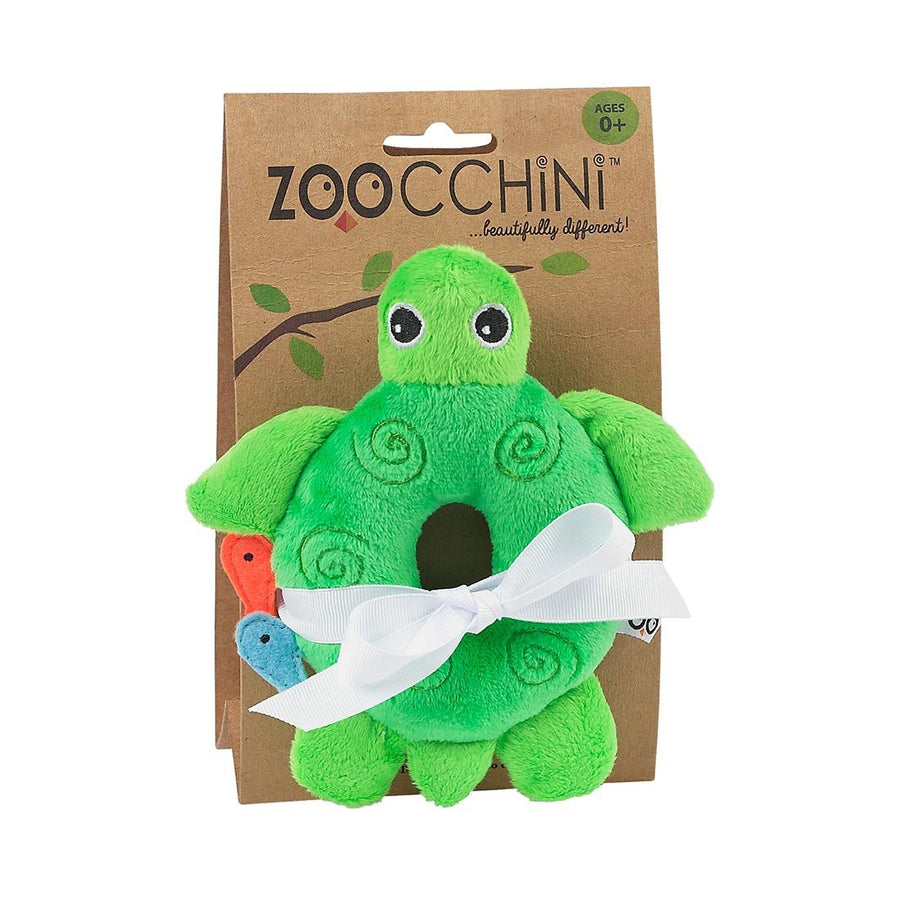 ZOOCCHINI Baby Buddy Rattle - Tammy the Turtle-1