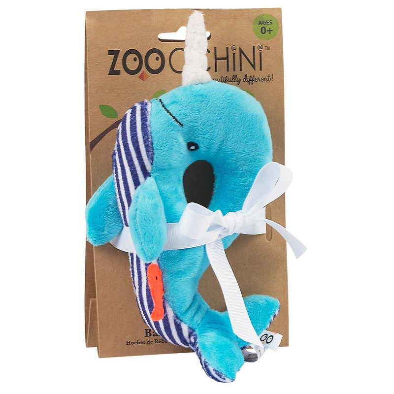 ZOOCCHINI Baby Buddy Rattle - Willy the Whale-1