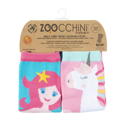 ZOOCCHINI Baby/Toddler 2 Pc Leg Warmer Set - Fairy Tails