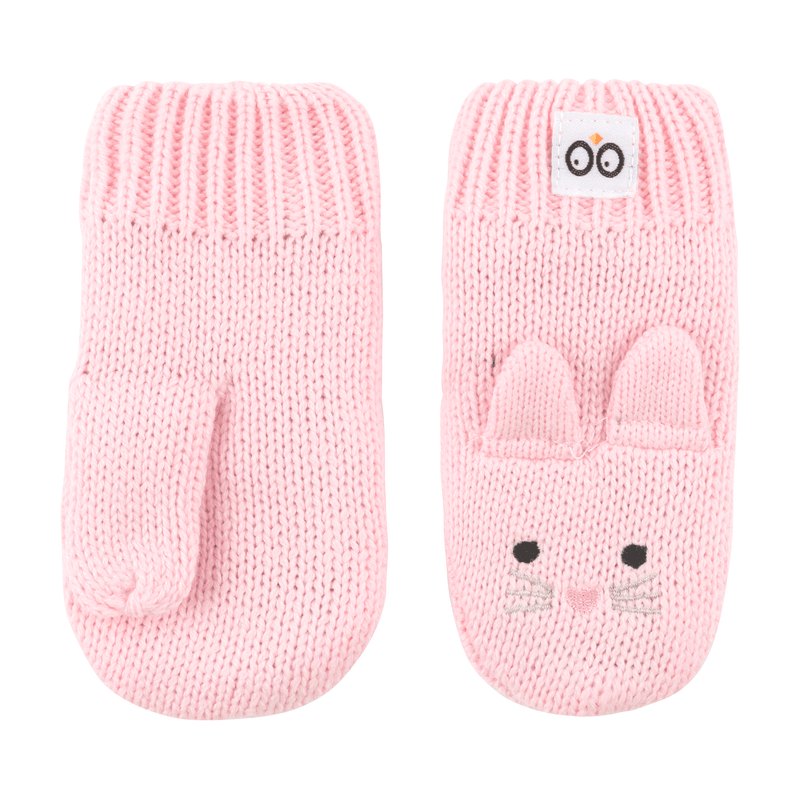 ZOOCCHINI Baby/Toddler Knit Mittens - Beatrice the Bunny