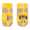 ZOOCCHINI Baby/Toddler Knit Mittens - Jaime the Giraffe