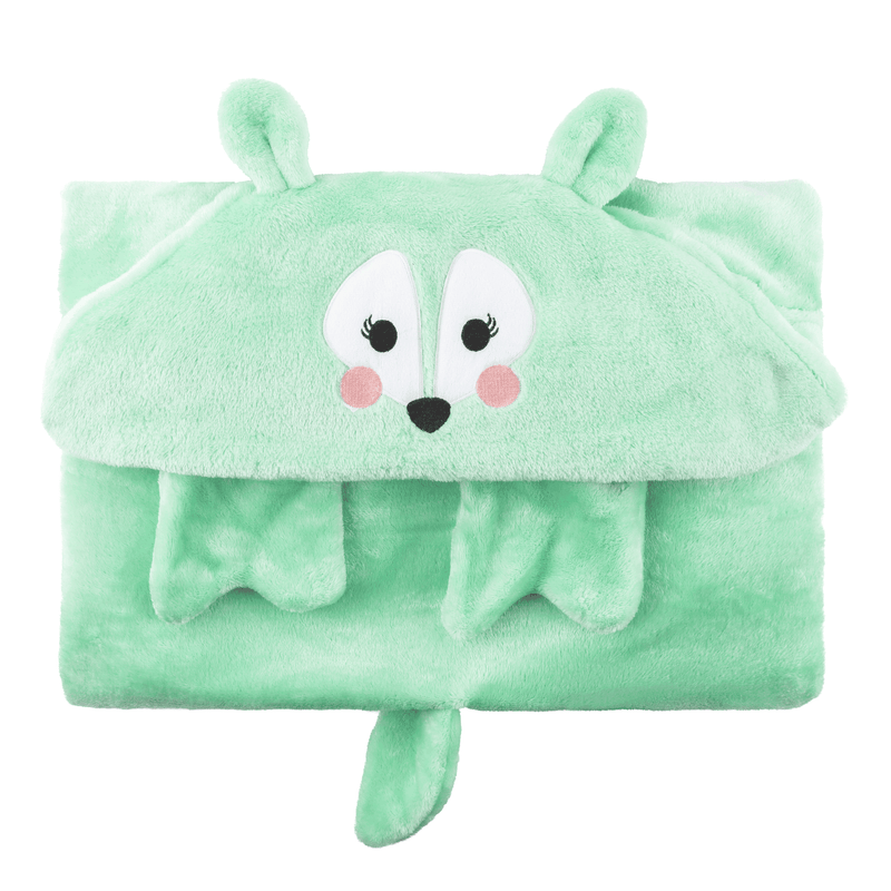 ZOOCCHINI Toddler/Kids Animal Hooded Blanket - Fiona the Fawn