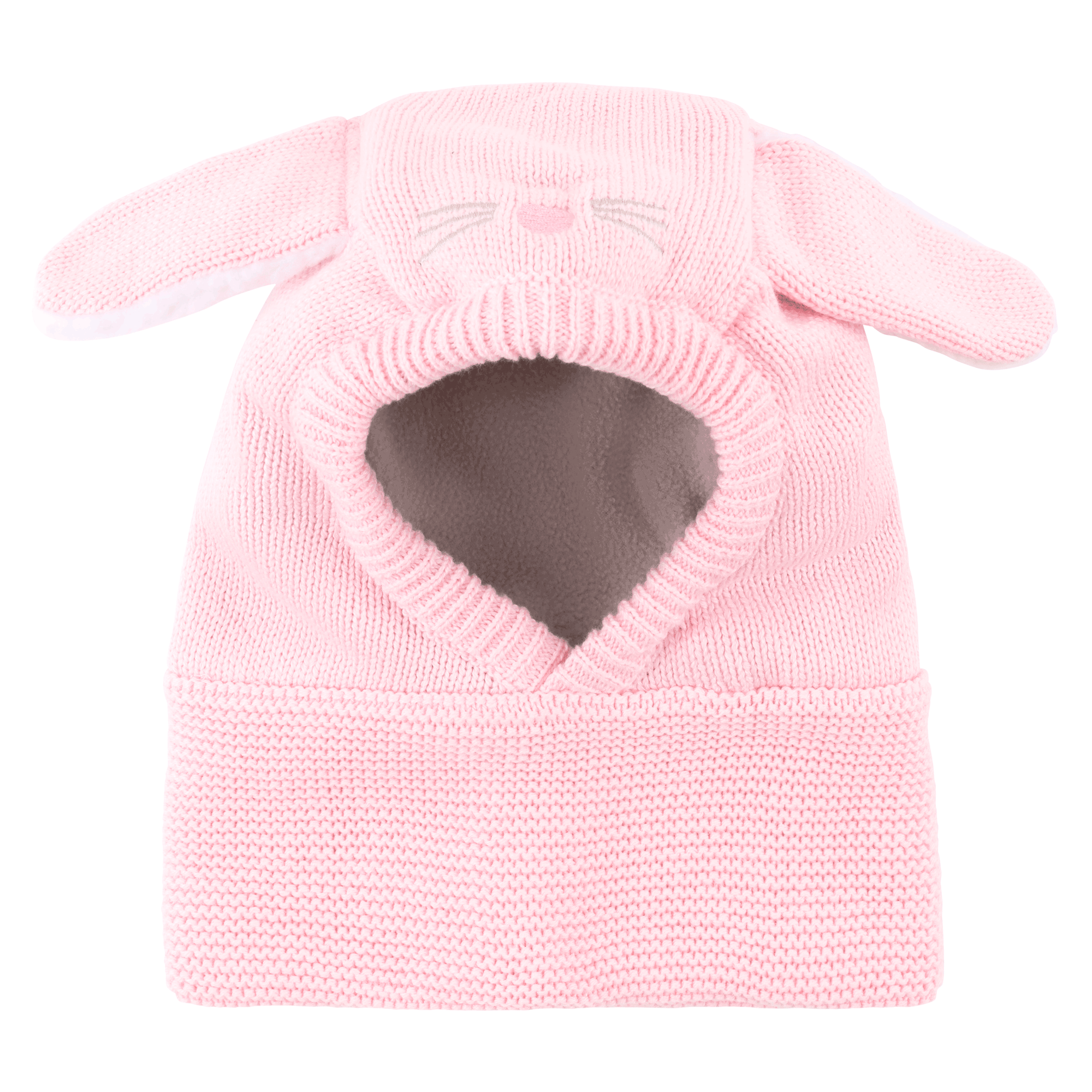 ZOOCCHINI Baby/Toddler Knit Balaclava Hat - Beatrice the Bunny