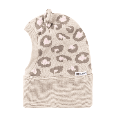ZOOCCHINI Baby/Toddler Knit Balaclava Hat - Kallie the Kitten