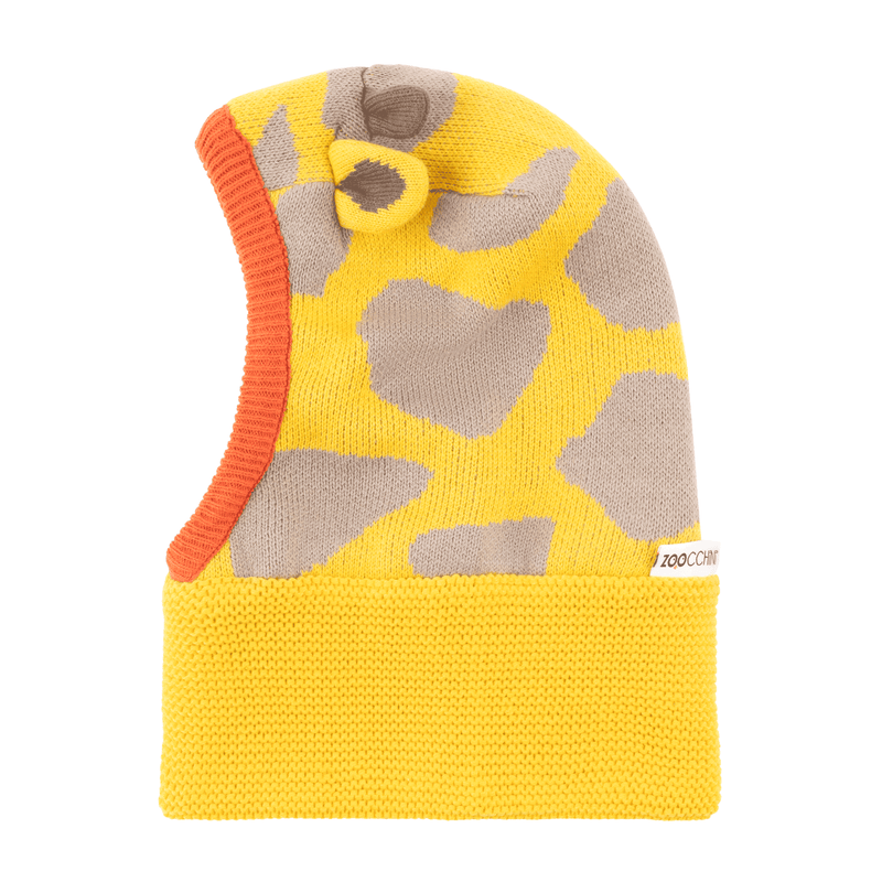 ZOOCCHINI Baby/Toddler Knit Balaclava Hat - Jaime the Giraffe