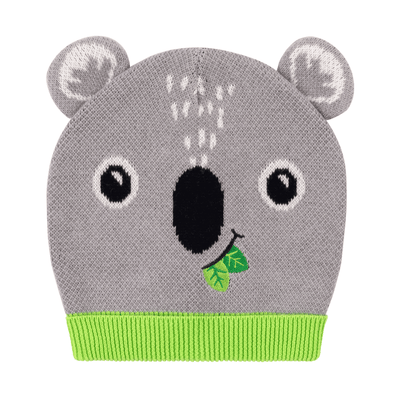 ZOOCCHINI Toddler/Kids Winter Beanie Hat and Gloves Set - Kai the Koala