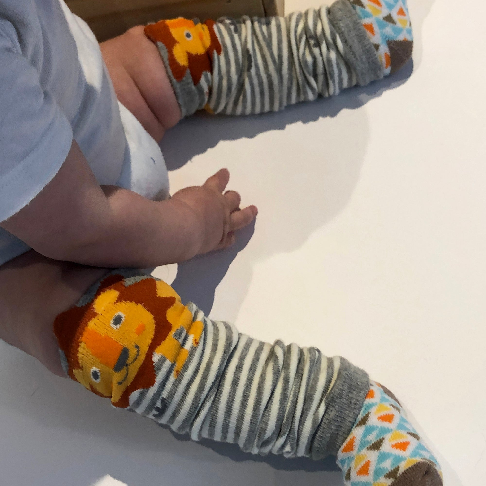 baby/toddler leg warmers