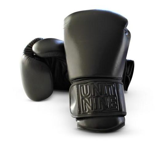 UNIT NINE Black Wolf Boxing Gloves