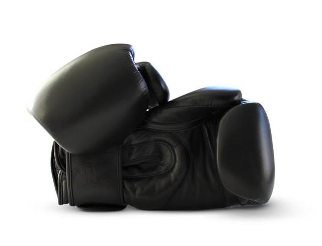 UNIT NINE Black Wolf Boxing Gloves 2