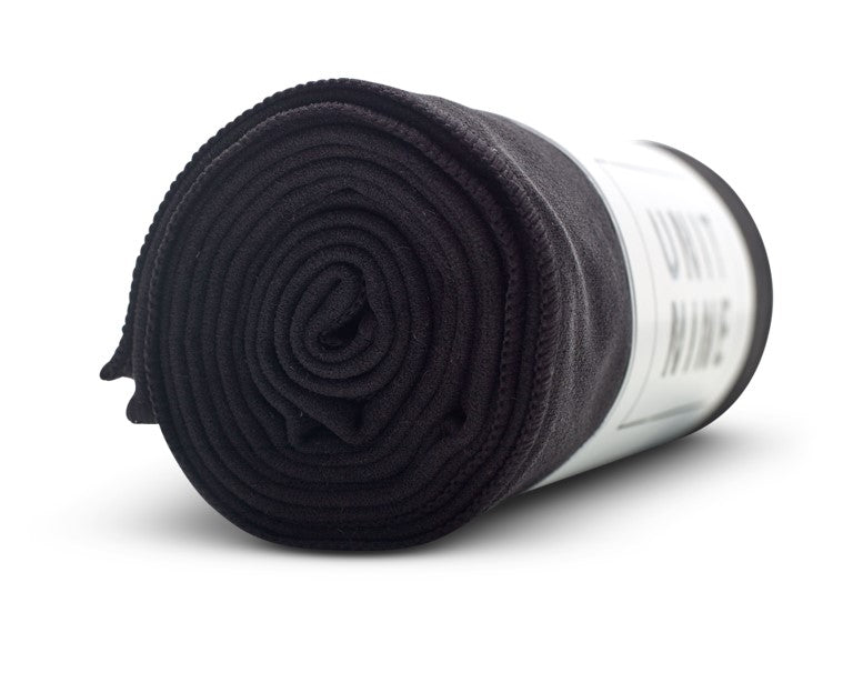 UNIT NINE Black Yoga Towel 2
