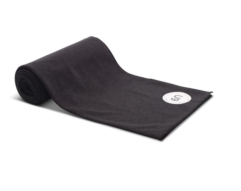 UNIT NINE Black Yoga Towel 3