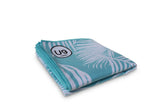 UNIT NINE Aqua Fern Beach Towel