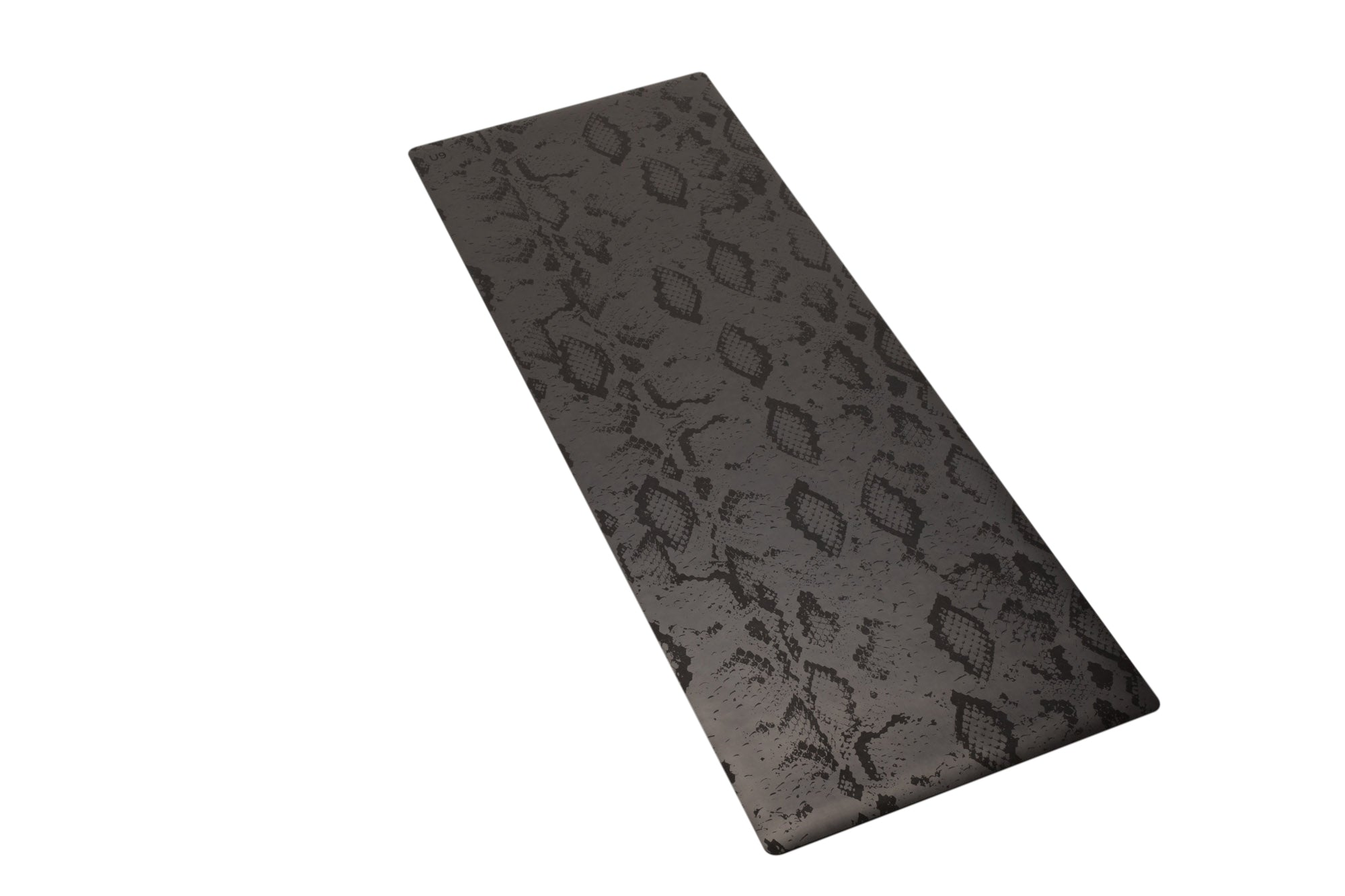 UNIT NINE Charcoal Python Rubber Yoga Mat & ADD YOUR INITIALS 3