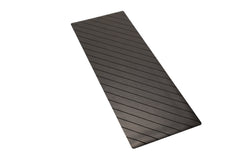 UNIT NINE Charcoal Stripe Rubber Yoga Mat & ADD YOUR INITIALS 3