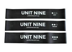 UNIT NINE Mini Resistance Bands