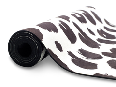 UNIT NINE White Leopard Yoga Mat 2