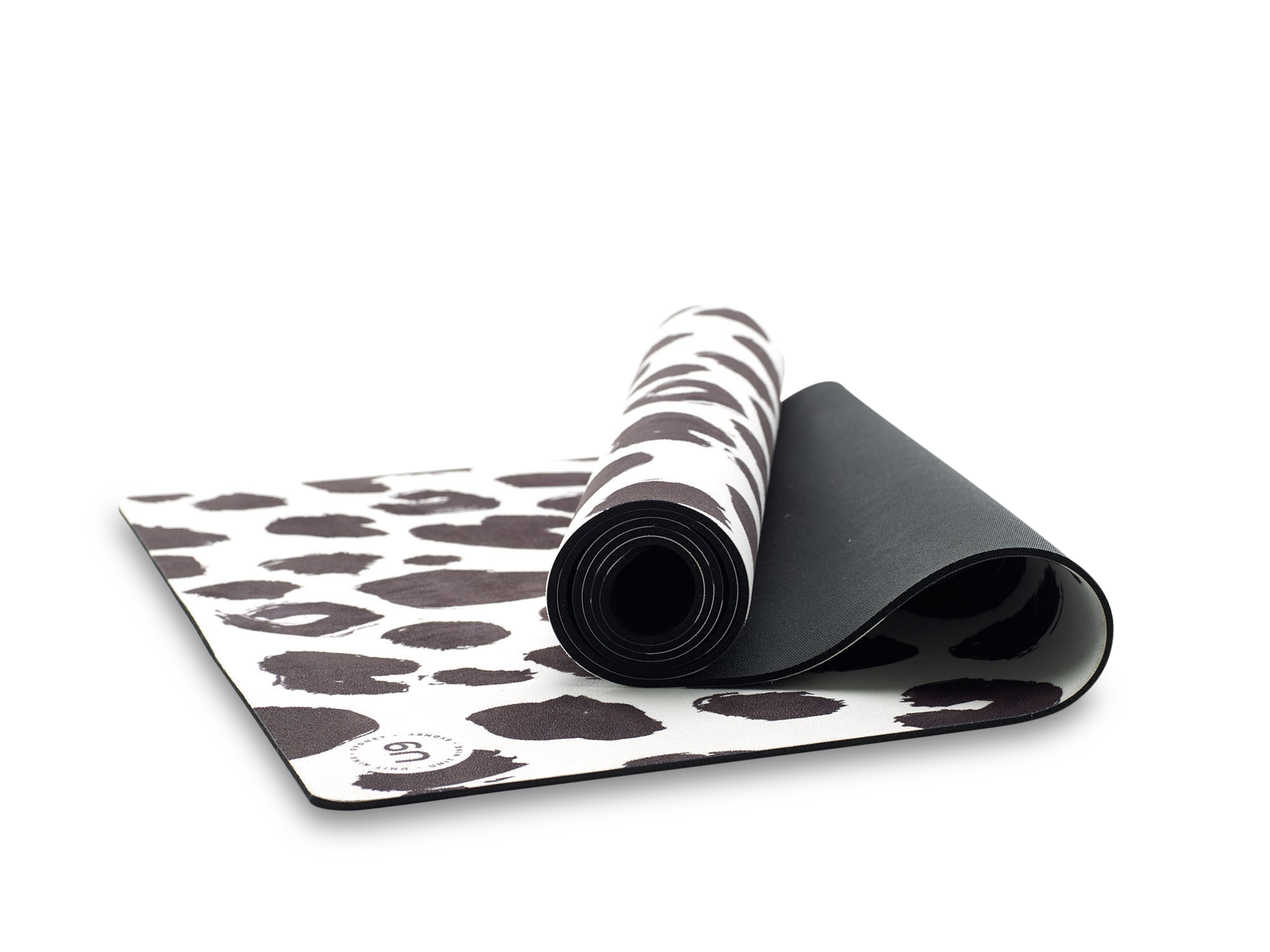 UNIT NINE White Leopard Yoga Mat 3