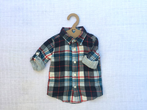 Flannel, Heart hanger