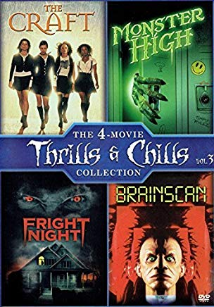 The 4-Movie Thrills & Chills Collection: (Brainscan / The Craft / Fright Night / Monster High)