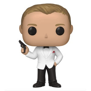 Funko Pop Movies: James Bond - Daniel Craig (Spectre) (Specialty)