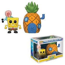 Funko Pop! Town: Spongebob with Gary & Pineapple House