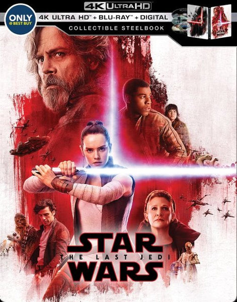 Star Wars The Last Jedi (4K) (Steelbook)