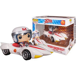 Funko Pop Rides Animation: Speed Racer - Speed Racer With Mach 5