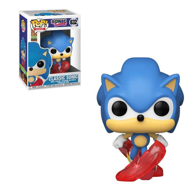 Funko Pop Games: Sonic The Hedgehog 30th - Classic Sonic