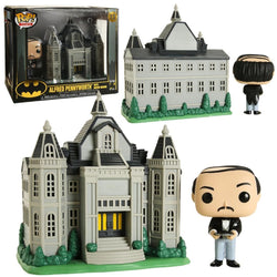 Funko Pop Town: Batman 80 Years - Alfred Pennyworth with Wayne Manor
