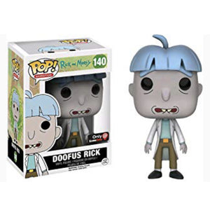 Funko Pop Animation: Rick And Morty - Doofus Rick (Gamestop)