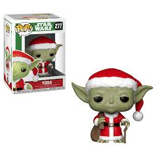 Funko Pop! Star Wars: Holiday - Santa Yoda